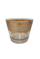 Vintage Culver Greek Key Ice Bucket