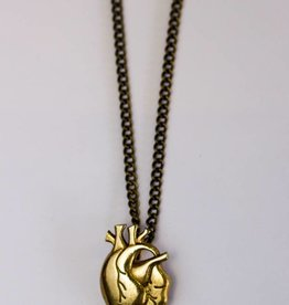 Model Citizen MC.HeartNecklace.Brass