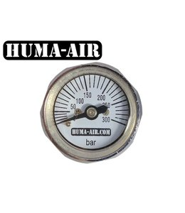 Huma-Air Mini Pressure Gauge 28mm