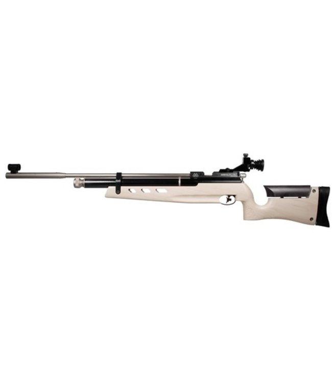 Air Arms Air Arms S400 MPR Biathalon .177 Cal, White Poplar Ambidextrous (495 FPS) Metal Buttpad