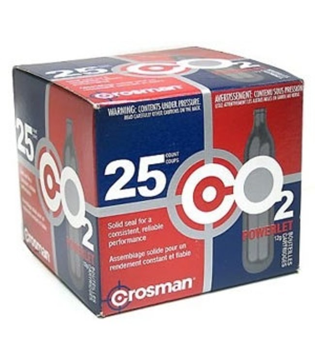 Crosman Crosman CO2 12g - 25ct