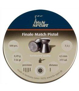 H&N H&N Finale Match Pistol .177 Cal, 7.56gr