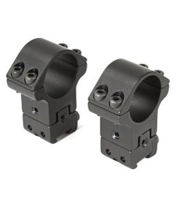 "SportsMatch U.K. 1"" Two Piece, High, Fully Adjustable, Dovetail"