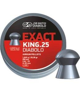 JSB Match Diabolo Exact King .25 Cal, 25.4g