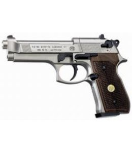 Beretta Beretta M92FS Nickel & Wood Grips
