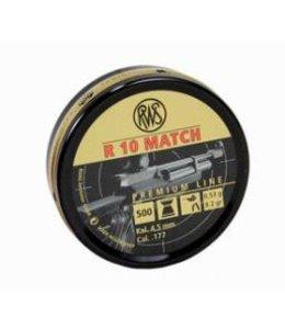 RWS R10 Match Premium Line Heavy .177 Cal, 8.2gr