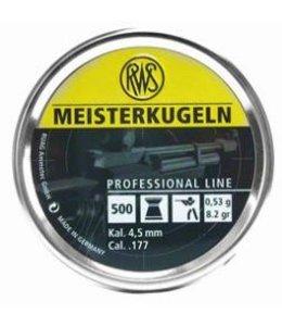 RWS Meisterkugeln Professional Line .177 Calibre Pellet