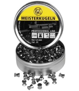 RWS Meisterkugeln Professional Line .22 Cal, 14.0gr