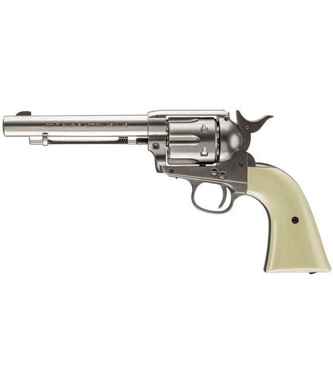 Colt Colt Peacemaker SAA BB Revolver - Nickel Finish