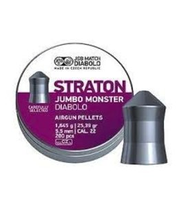 JSB Match Diabolo JSB Match Diabolo Straton Jumbo Monster .22 Cal, 25.39gr
