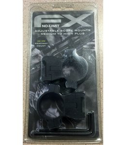 FX Airguns FX No-Limit Mounts - 30mm Weaver/Picatinny