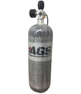 AGS 4500psi, 74 cuft Carbon Fiber Air Tank