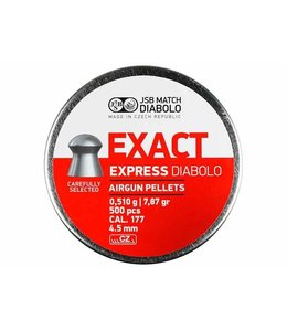 JSB Match Diabolo Exact Express .177 Cal, 7.87gr