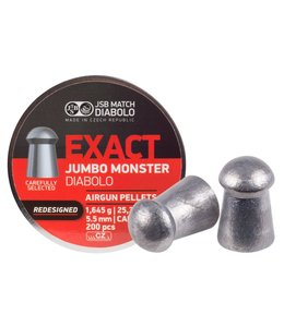 JSB Match Diabolo Redesigned JSB Monster .22 cal, 25.39gr