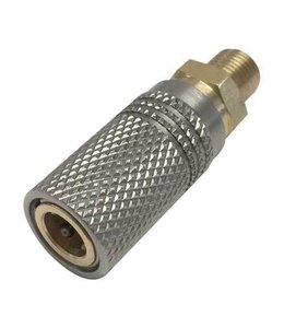 "Best Fittings Extended Quick Coupler Socket 1/8"" BSP Thread"