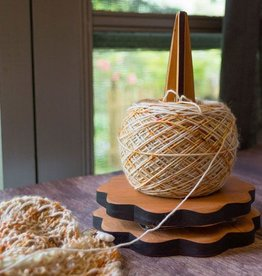 Hannah's Ideas in Wood Flower Yarn Spinner