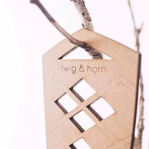 Twig & Horn Twig & Horn Argyle Sock Blockers
