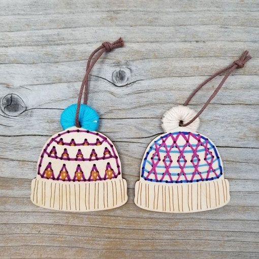 Katrinkles Katrinkles Stitchable Hat Ornaments