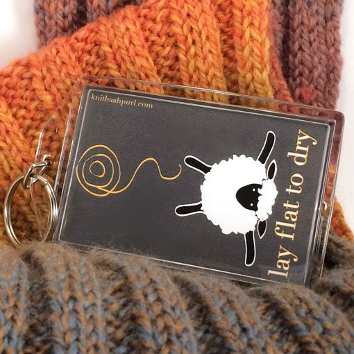 Knitbaahpurl Knitbaahpurl Keychain