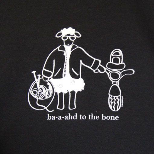 Knitbaahpurl Baahd to the Bone Short Sleeve T-Shirt