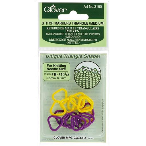 Clover Clover 3150 Medium Triangle Stitch Markers