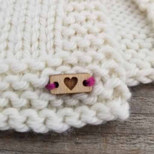 Katrinkles Katrinkles Tiny Heart Tags