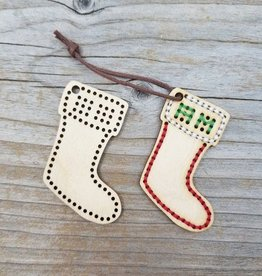 Katrinkles Stocking Ornament Blank
