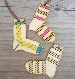Katrinkles Sock Ornaments