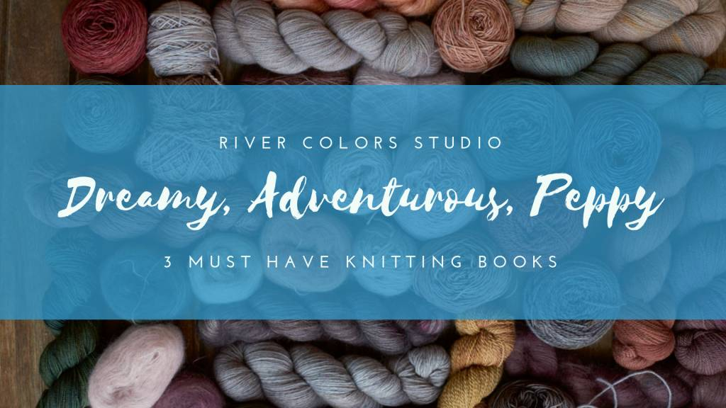 Three knitting books for the winter months ahead!