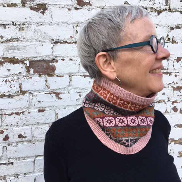 Barb Wearing Compass Cowl