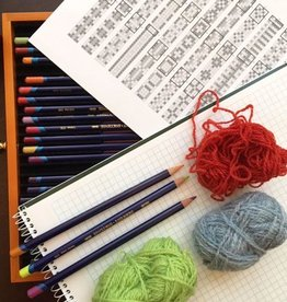 River Colors Studio Calculate and Color Your Cowl