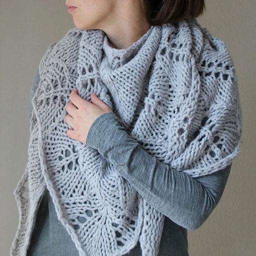 Melanie Berg Shawls - Knit In Style