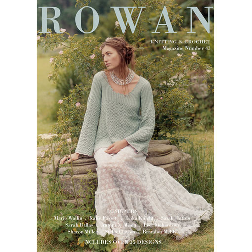 3554f1a42 Rowan Knitting and Crochet Magazine 43 - River Colors Studio
