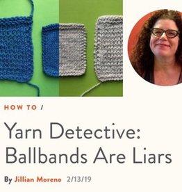 River Colors Studio Yarn Detective with Jillian Moreno