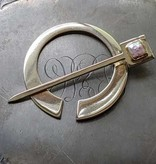 JUL Designs JUL Designs Pearlescent Penannular Brooch