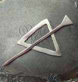 JUL Designs JUL Designs Mid Century Modern Triangle Shawl Pin