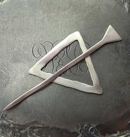 JUL Designs Mid Century Modern Triangle Shawl Pin
