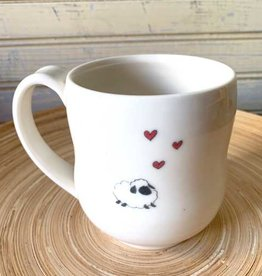 JaMpdx Fiber Animals Mugs