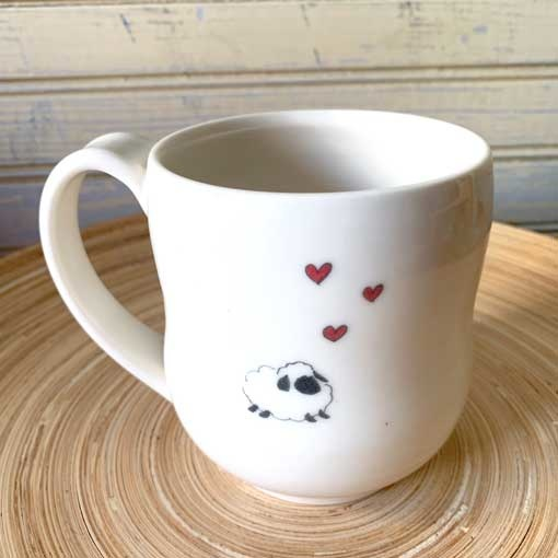 JaMpdx JaMpdx Fiber Animals Mugs