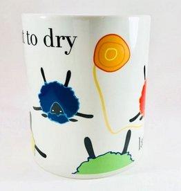 Knitbaahpurl Lay Flat To Dry 11oz Mug