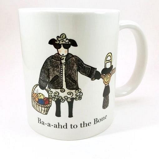 Knitbaahpurl Baaahd to the Bone 11oz Mug