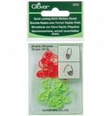 Clover Clover 3030 Quick Locking Stitch Markers Small
