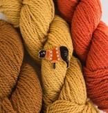 K2TOG Club K2TOG Club Sheep Fall Colorwork Sweater Enamel Pin