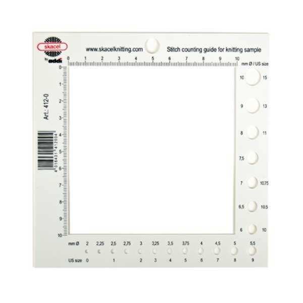 Addi Addi Stitch Counting Frame & Needle Gauge