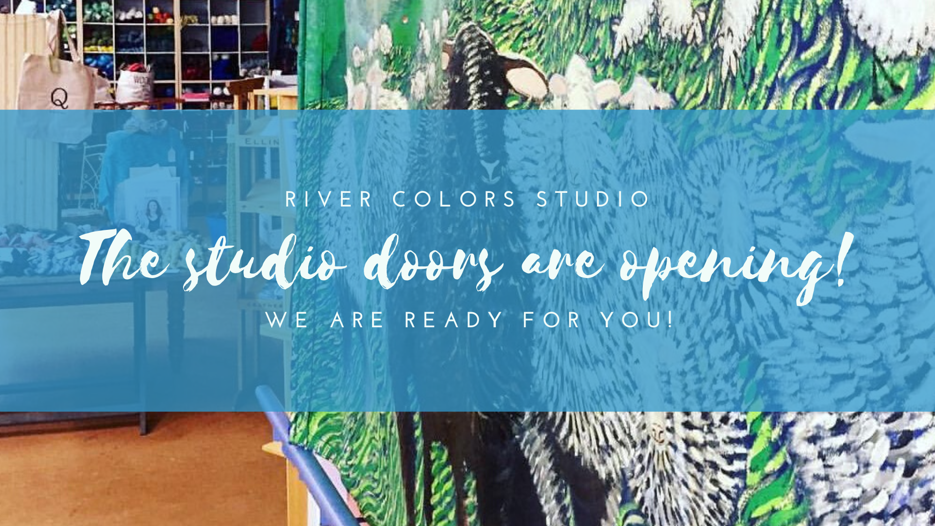 The studio doors are opening!