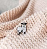 K2TOG Club K2TOG Club Tangled Sheep Enamel Pin