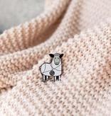 K2TOG Club K2TOG Club Tangled Sheep Enamel Pin