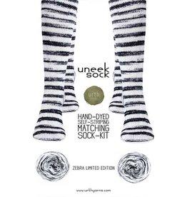 Urth Uneek Sock Zebra Limited Edition