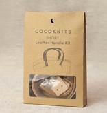 CocoKnits CocoKnits Leather Handle Kit - Short