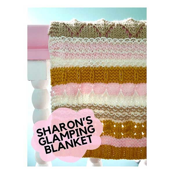 Berroco Sharon's Glamping Blanket Kit